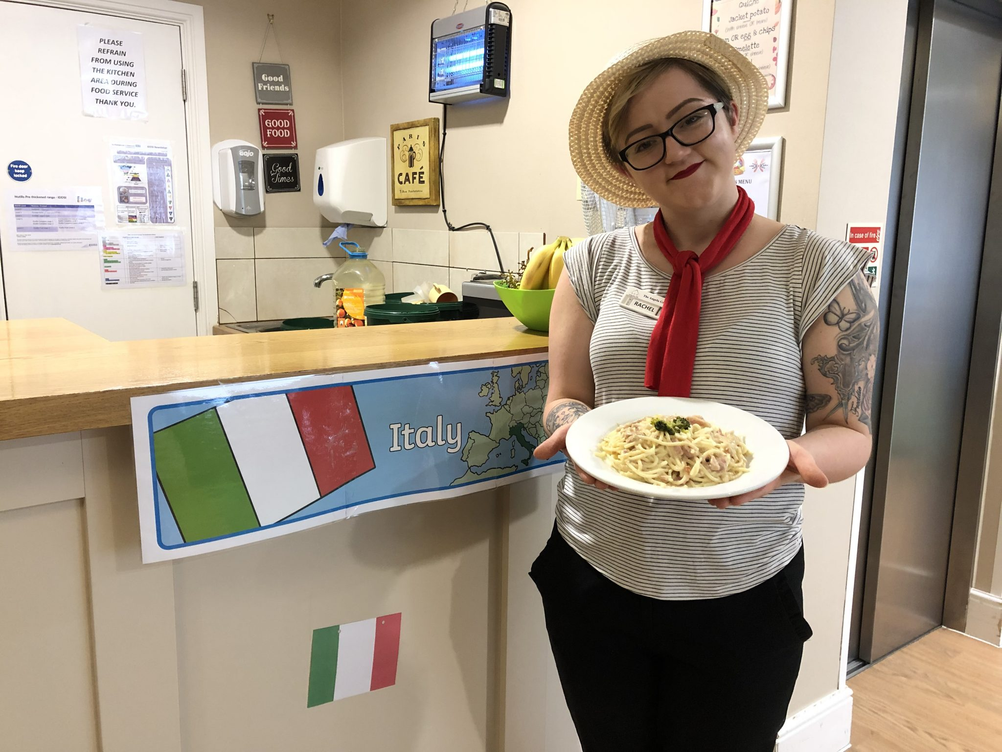 Northampton Care Home Goes to Italy