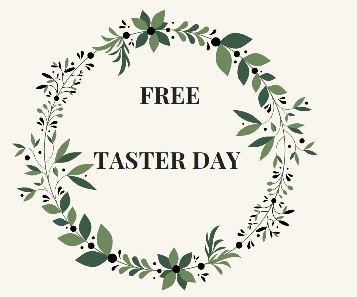 FREE TASTER DAY