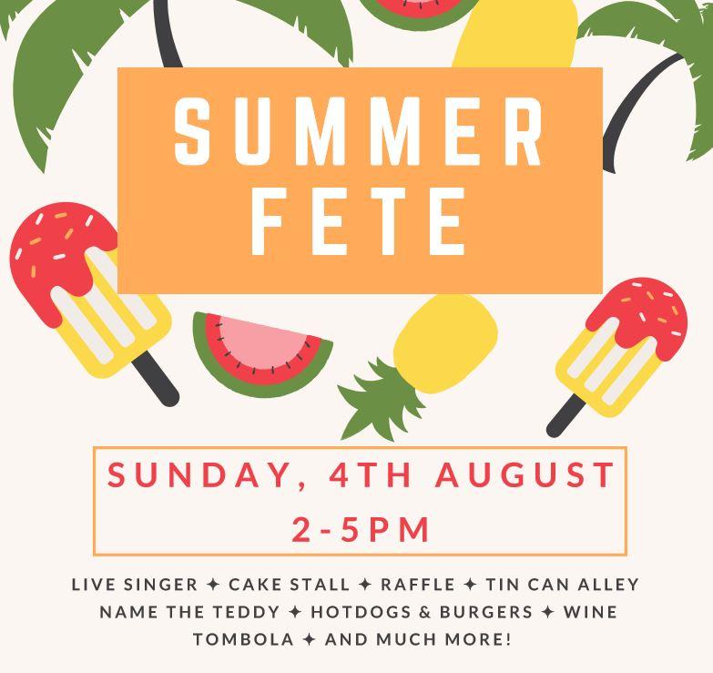 Summer Fete – August 2019
