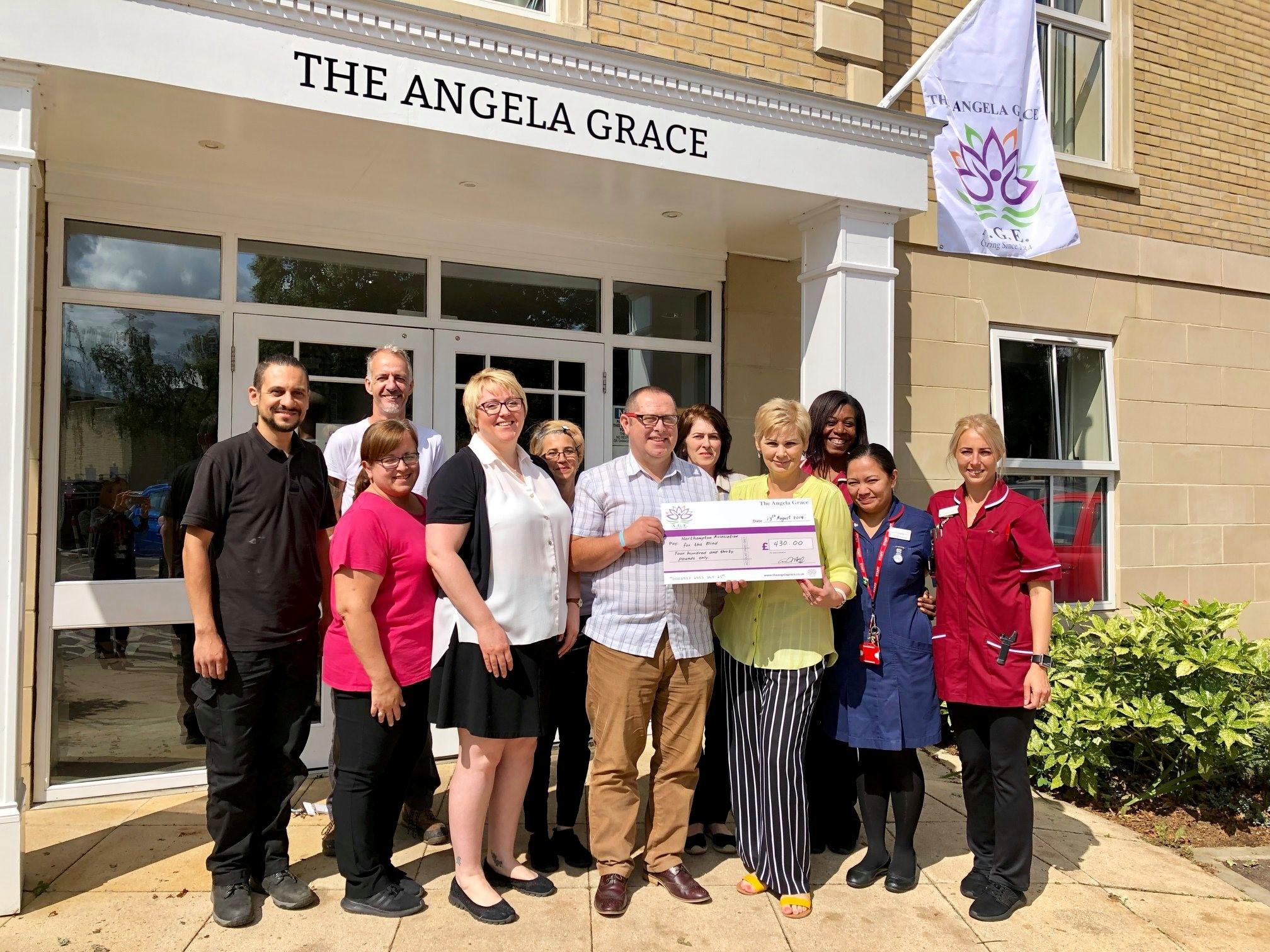 Hundreds raised for Northampton Charity