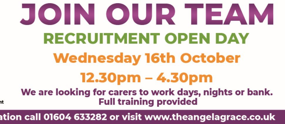 WORK FOR US – Recruitment Open Day