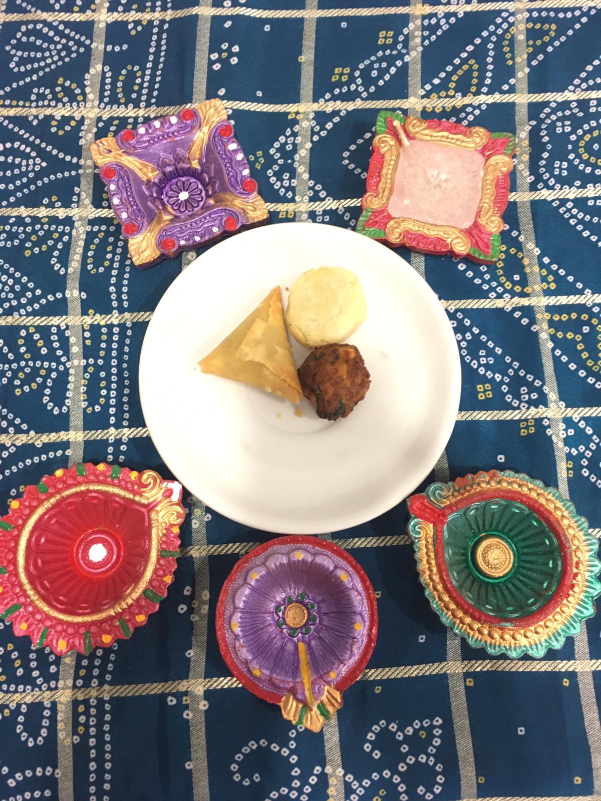 Northampton Care Home Celebrates Diwali